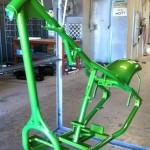 green chopper frame
